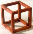 cube frame representing the paradoxes of leadership