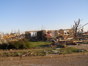 Greensburg tornado wreckage, photo: Daniel Wallach