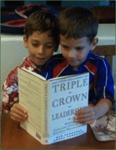 Jack & Ben with Triple Crown