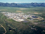 Rocky Flats, July 1995, prior to cleanup (Source: Wiki Commons)