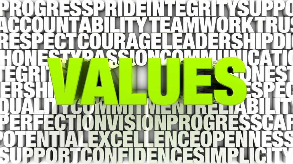 Leadership Speakers Bob Vanourek and Gregg Vanourek share an example of personal values influencing organizational values.
