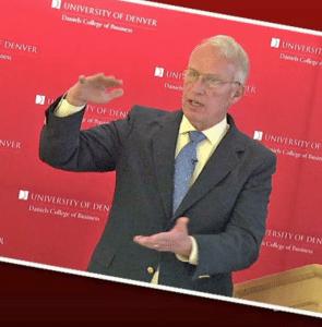 Bob Vanourek at Denver University: Leadership Speaker, Business Ethics Speaker, Motivational Speaker