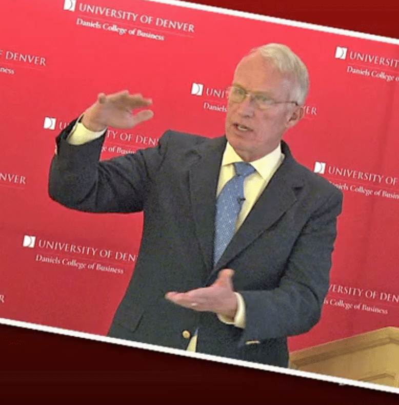 Bob Vanourek at Denver University: Leadership Speaker, Business Ethics Speaker, Motivational Speaker