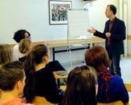 Gregg Vanourek teaching