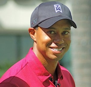 Image: Photo of Tiger Woods 2011, Source: Angela George, Creative Commons